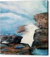 Azure Window - After Canvas Print