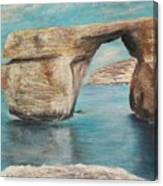 Azure Window - Before Canvas Print