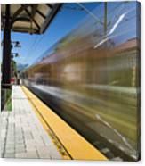 Azusa Downtown Metro Station Canvas Print