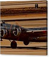 B-17 Bomber Canvas Print