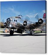 B-17 Flying Fortress, Yankee Lady Canvas Print