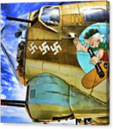 B-17 Paint  Canvas Print