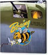 B-17 Restored Canvas Print