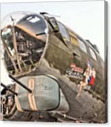 B-17 Texas Raiders Canvas Print