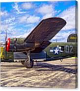 B-24 Liberator Canvas Print