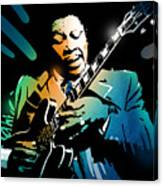 B B King Canvas Print