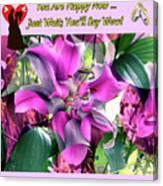 B Exton  Flowering Of Delights  Bigstock 164301632  2991949 Canvas Print