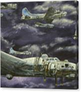 B17 Bomber Canvas Print