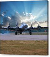B17 Landing Canvas Print