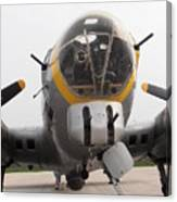 B17 Nose Canvas Print