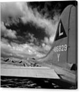 B17 Tail Canvas Print
