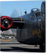 B24 Liberator Ready To Taxi Memorial Day Weekend 2015 Canvas Print