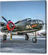 B25 Mitchell At Livermore Canvas Print