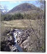Ba Bridge, West Highlands, Scotland Canvas Print
