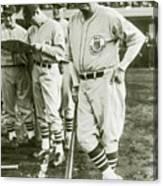 Babe Ruth All Stars Canvas Print