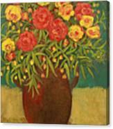 Babette's Bouquet Canvas Print