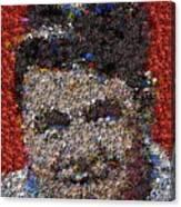 Babr Ruth Puzzle Piece Mosaic Canvas Print