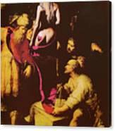 Babs In Babylon Canvas Print