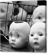 Baby Heads, No.1  Canvas Print
