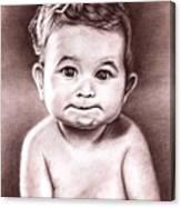 Babyface Canvas Print