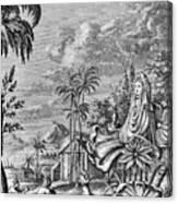Babylon: Sun Worship Canvas Print