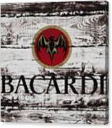 Bacardi Wood Art Canvas Print