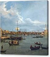 Bacino Di San Marco From Canale Della Giudecca Canvas Print