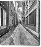 Back Alley Canvas Print