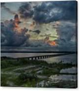 Back Bay Sunrise Canvas Print