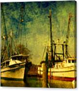 Back Home In The Harbor Canvas Print