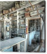 Back In 5 - The General Store, Bodie Ghost Town Canvas Print
