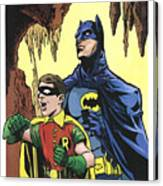 Back In The Batcave Canvas Print