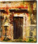 Back Lot By Darian Day Canvas Print