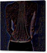 Back Of Beads Canvas Print