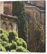 Back Of Church Of The Frari In Venice Canvas Print