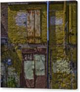 Back Of Old Building Canvas Print