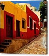 Back Street Guanajuato Canvas Print