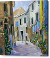Back Street Canvas Print