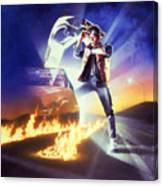 Back To The Future 1985 Canvas Print