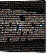 Back To The Future Mosaic Canvas Print