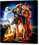 Back To The Future Part IIi 1990 Canvas Print