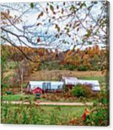 Backcountry Farm Canvas Print