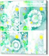 Colour Choice Poppy Collage Canvas Print