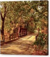 Backroads River Bridge Canvas Print