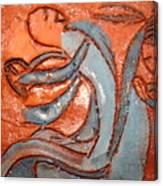 Backseat - Tile Canvas Print