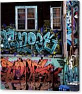 Backstreet Canvas Print
