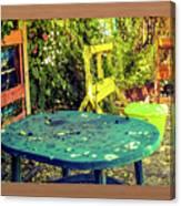 Backyard Summer Canvas Print