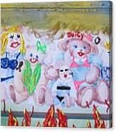 Bad Bears Canvas Print