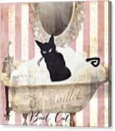 Bad Cat I Canvas Print