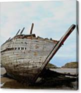 Bad Eddie's Boat Donegal Ireland Canvas Print